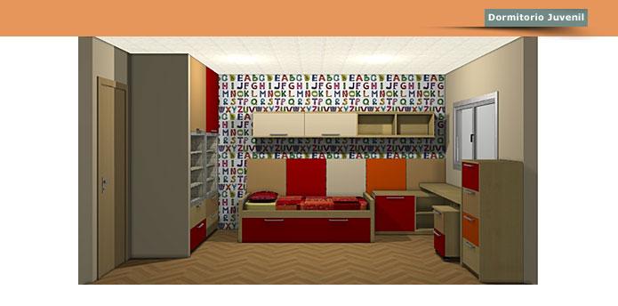 La c moda muebles a medida dormitorio sal n comedor for Comedor juvenil