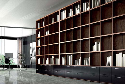 Muebles sal n comedor en negreira a coru a la c moda for Librerias para salones modernos