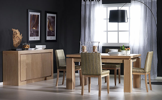 Muebles sal n comedor en negreira a coru a la c moda - Muebles estilo colonial moderno ...