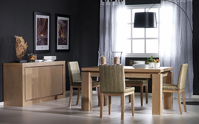 Muebles sal n comedor en negreira a coru a la c moda - Salon colonial moderno ...