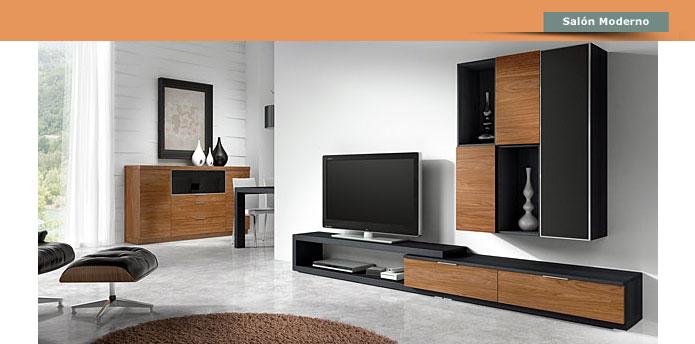 La c moda muebles sal n comedor en negreira a coru a - Muebles de salon contemporaneos ...